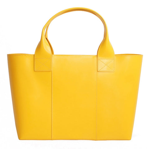 Shopping Bag Yellow Gold - Stylemindchic Boutique - Curated Collections - 1