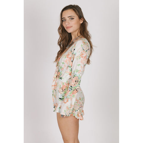 GARDEN PARTY TIE ROMPER - Stylemindchic Boutique - Curated Collections - 2