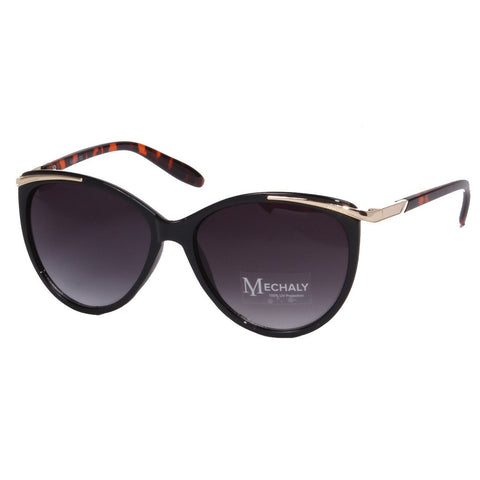 Mechaly Cat Eye Style Black/Tortoise Sunglasses - Stylemindchic Boutique - Curated Collections