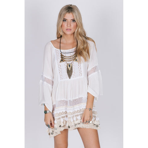 SUN GODDESS TUNIC DRESS - Stylemindchic Boutique - Curated Collections - 1