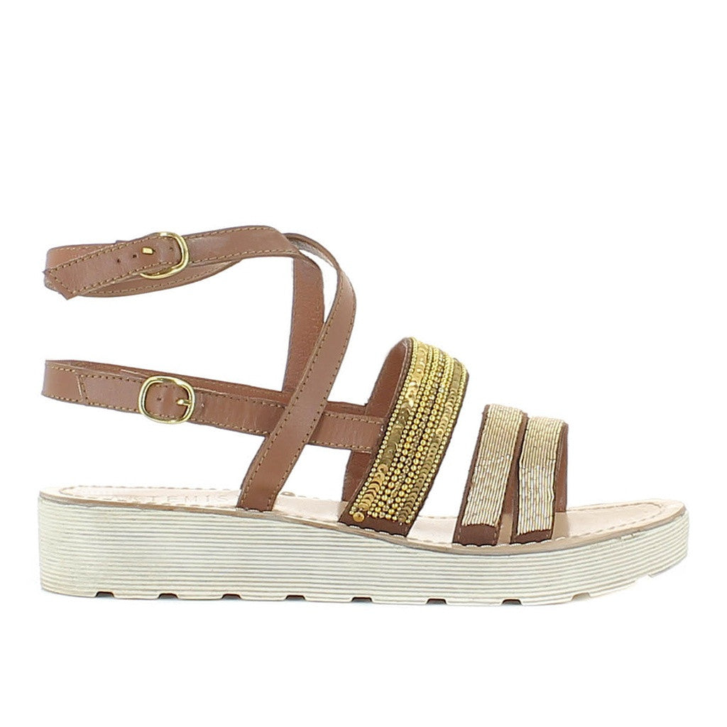Arianna Brown Sandal - Stylemindchic Boutique - Curated Collections - 1