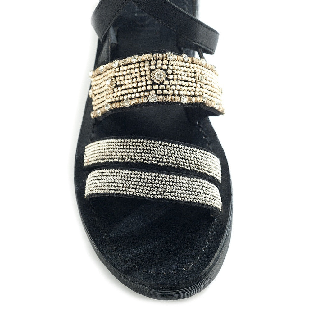 Arianna Black Sandal - Stylemindchic Boutique - Curated Collections - 4