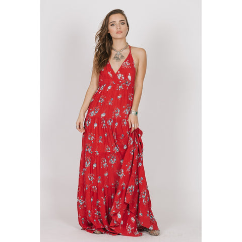 THE SANGRIA RAZOR BACK MAXI