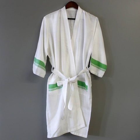 Spa White Bathrobe - Stylemindchic Boutique - Curated Collections  - 2