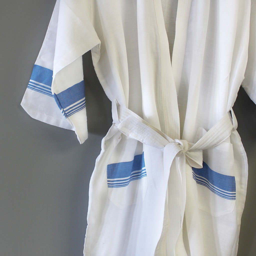 Spa White Bathrobe - Stylemindchic Boutique - Curated Collections  - 3