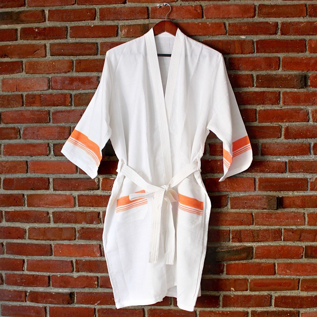 Spa White Bathrobe - Stylemindchic Boutique - Curated Collections  - 4