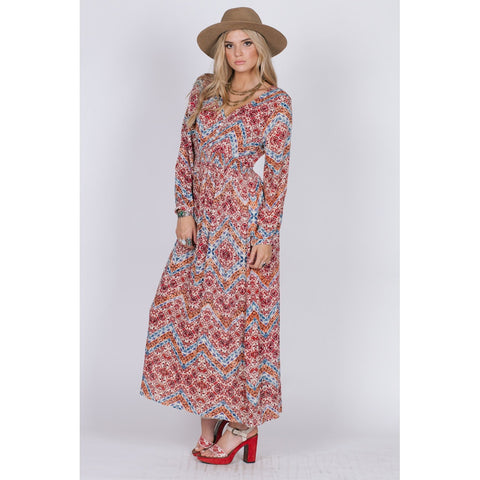 DANCING IN THE DESERT BUTTON MAXI