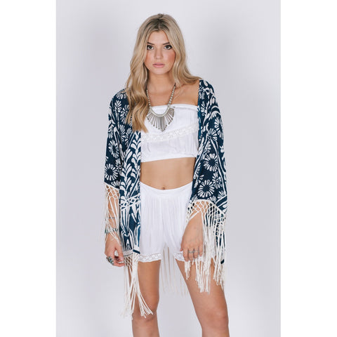 TROPIC BLUES KIMONO - Stylemindchic Boutique - Curated Collections - 1