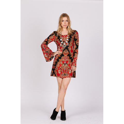 MAJESTIC RENAISSANCE TUNIC DRESS - Stylemindchic Boutique - Curated Collections - 2
