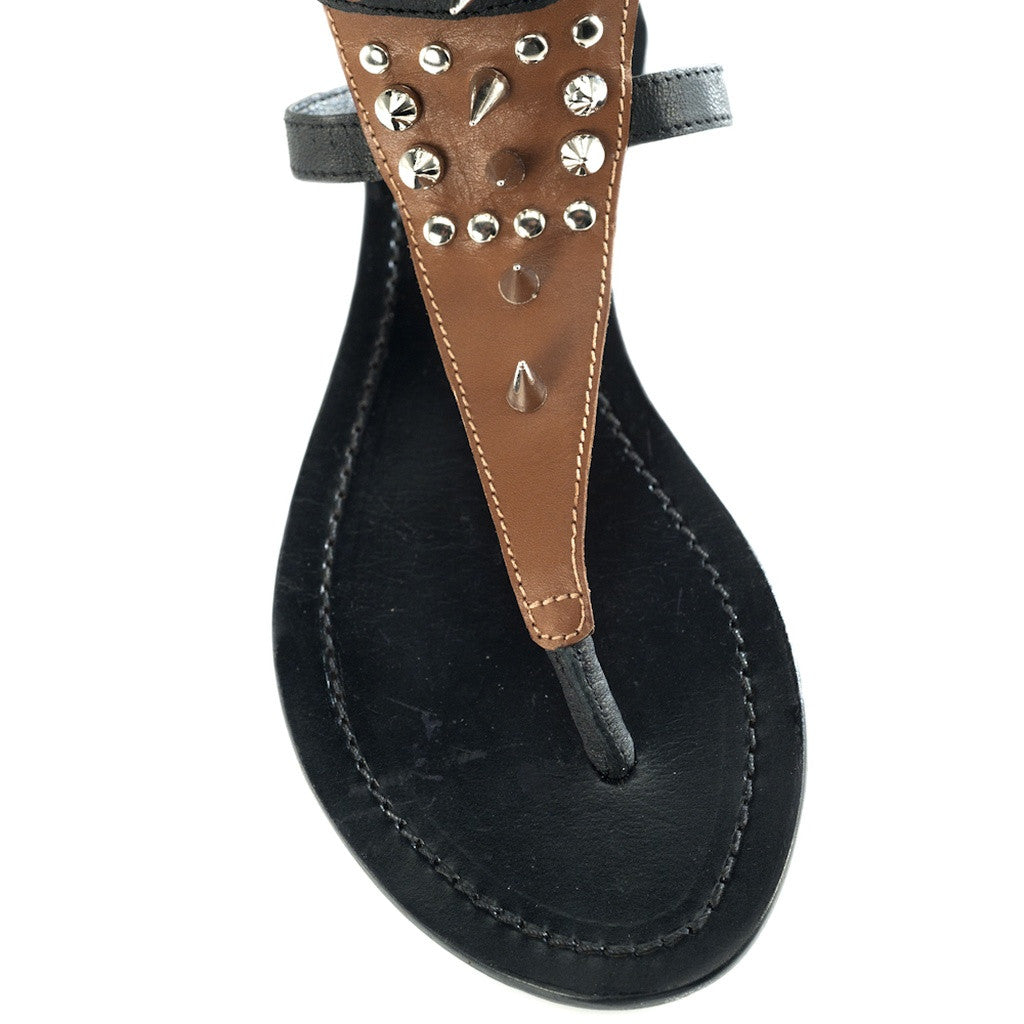 Athena Brown Sandal - Stylemindchic Boutique - Curated Collections - 4