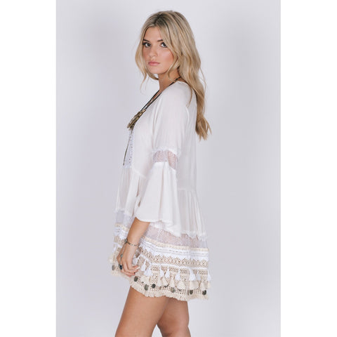 SUN GODDESS TUNIC DRESS - Stylemindchic Boutique - Curated Collections - 2