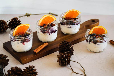 Blueberry Orange Spice Yogurt Parfait