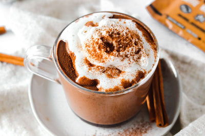 Superfood Maple Cacao Hot Chocolate