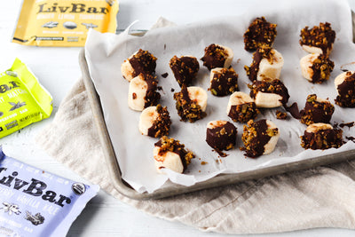 Chocolate Dipped Banana Bites