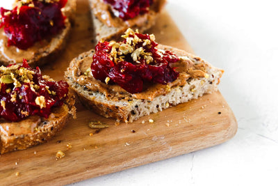 Loaded Holiday Cranberry Toast