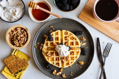Build Your Own Gluten Free Waffles
