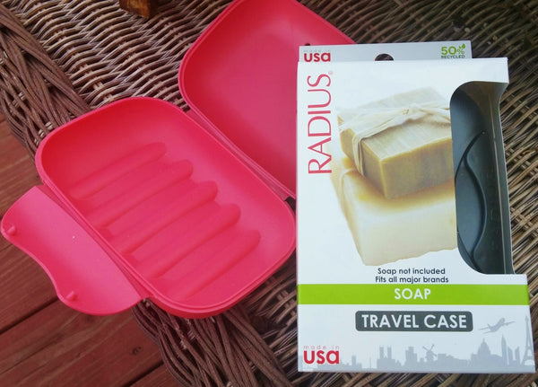 Travel Soap Case by Radius, assorted colors