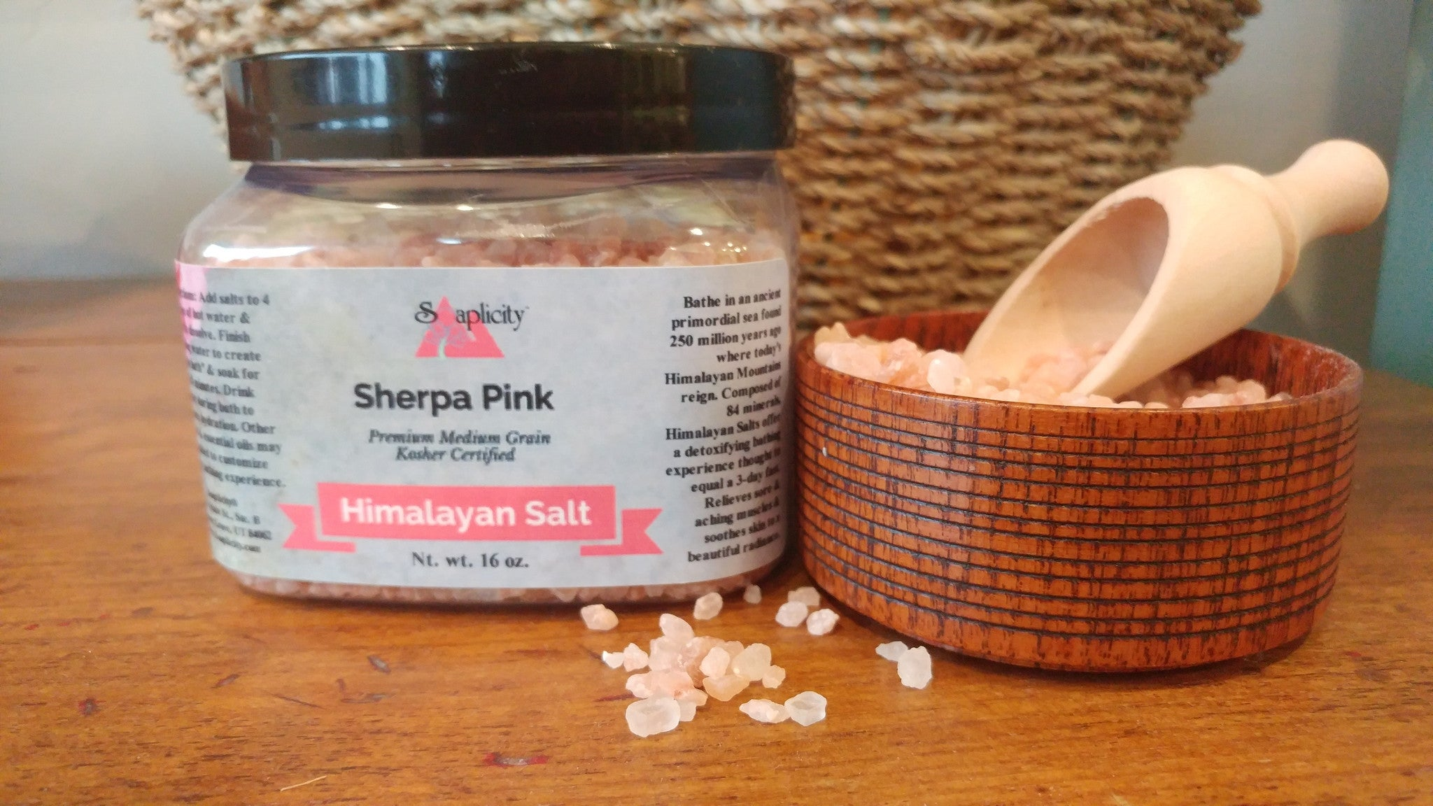 Himalayan Bath Salts - Premium Kosher Certified