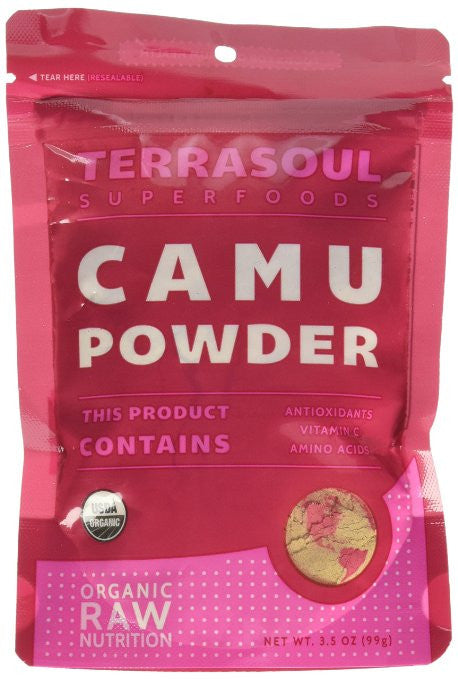 Camu Camu Powder (Certified Organic, Raw, Non-GMO) - 3.5 oz.