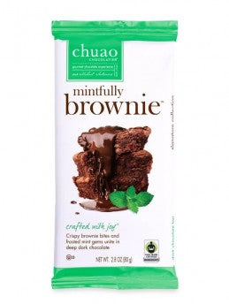 Mintfully Brownie Dark Chocolate Bar by Chuao