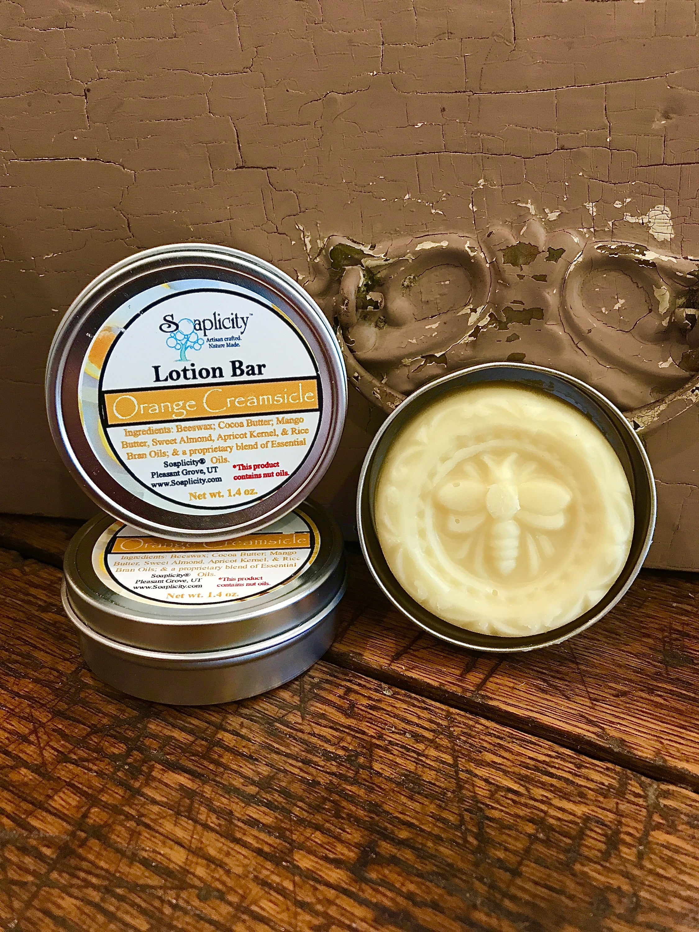 Lotion Bar - Orange Creamsicle