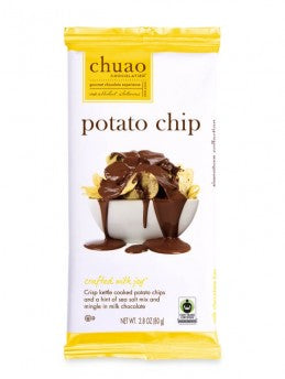 Potato Chip Milk Chocolate Bar by Chuao