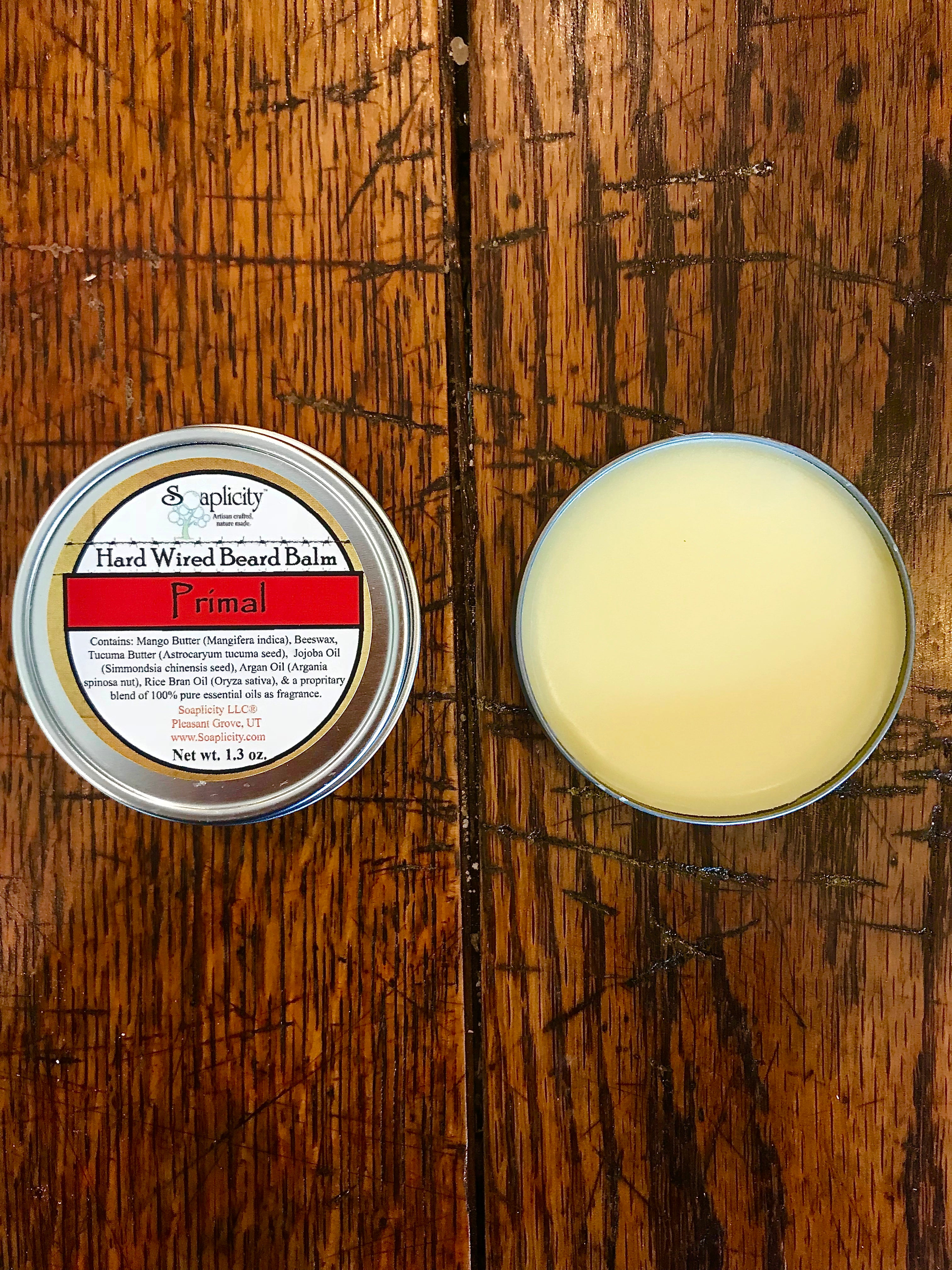 Hard Wired Beard Balm - Primal