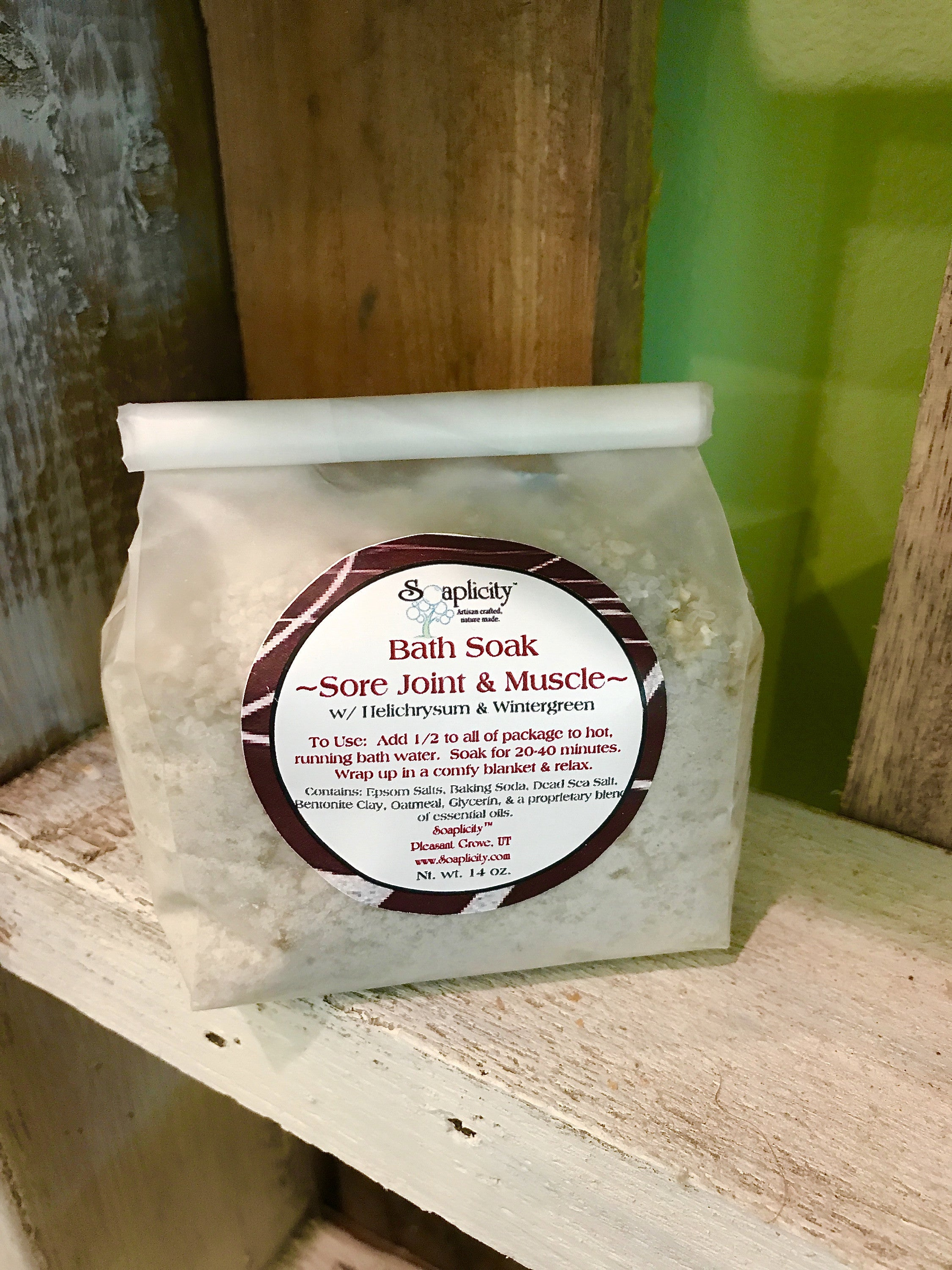 Bath Salts - Rejuvenate