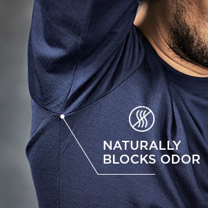 WOOLDAY merino wool shirts naturally block odors