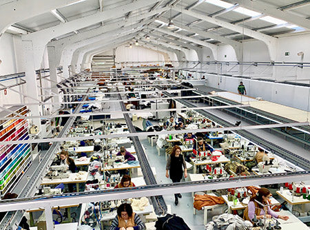 Woolday face mask factory