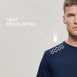 Woolday t-shirts regulate heat