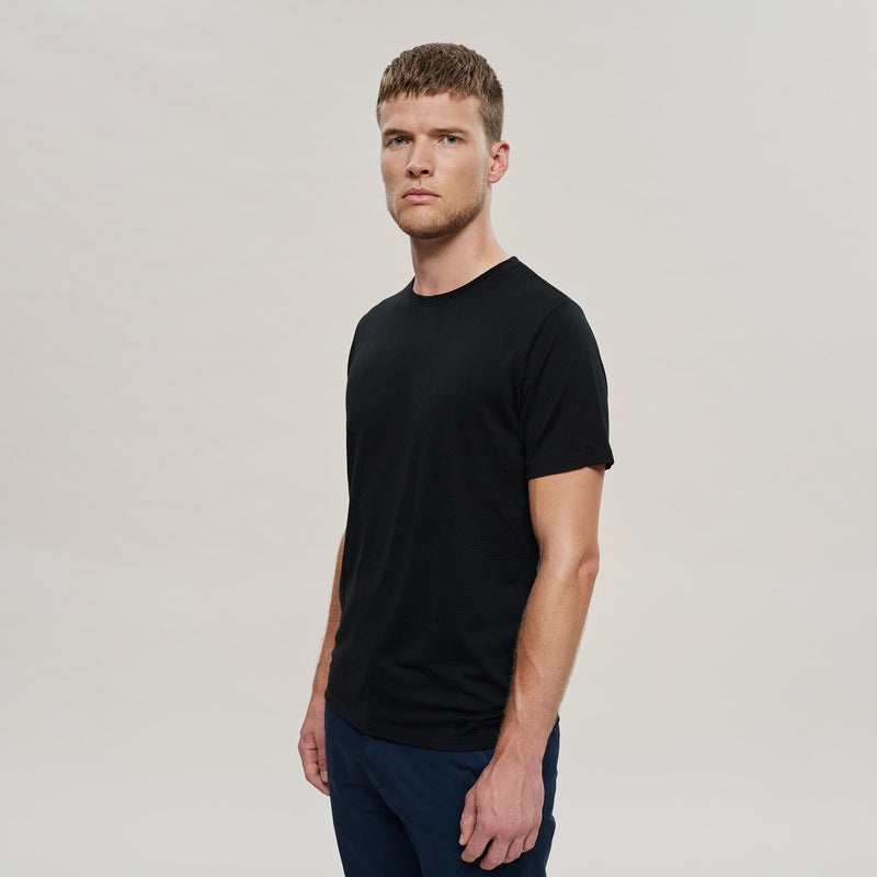 The Merino Wool T-Shirt Black Woolday 3
