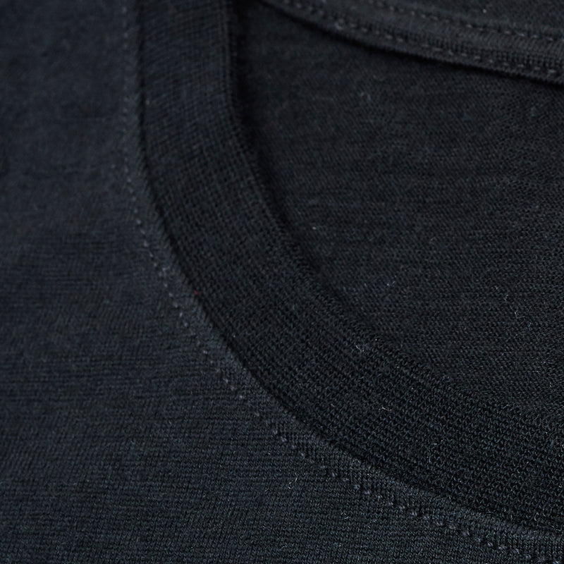 The Merino Wool T-Shirt Black Woolday 5
