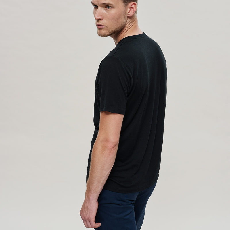 The Merino Wool T-Shirt Black Woolday 6