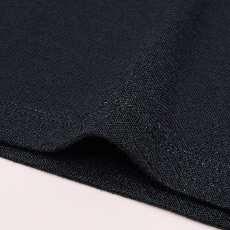 The Merino Wool T-Shirt for Women Black Woolday 6
