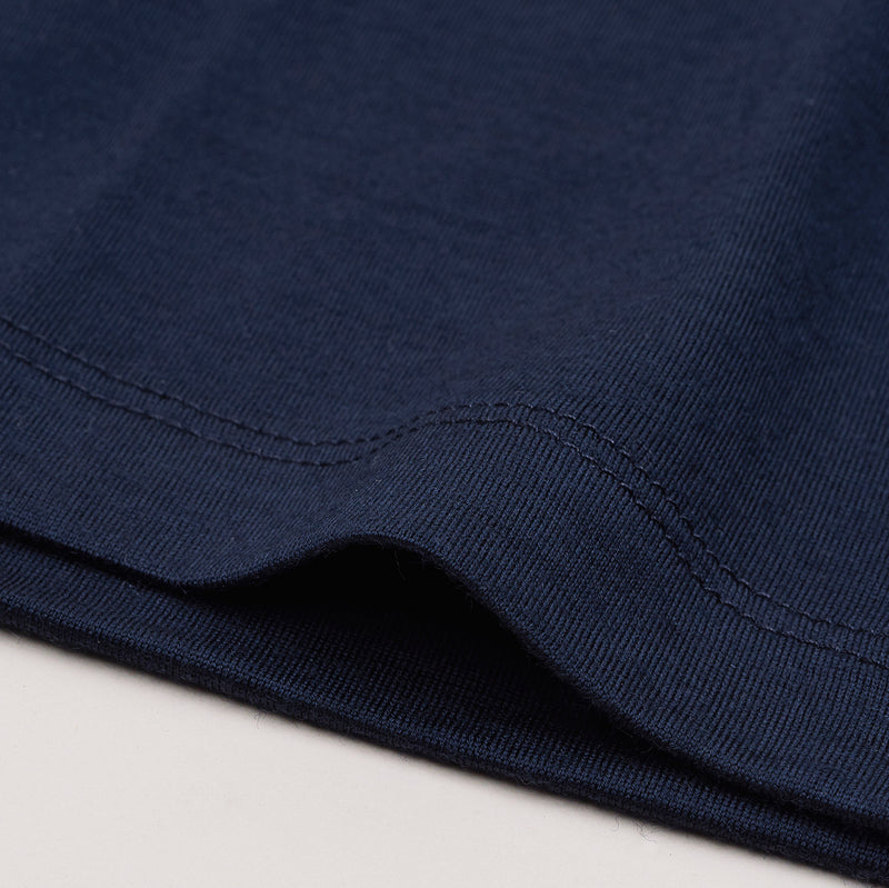 The Merino Wool T-Shirt for Women Navy Blue Woolday 6