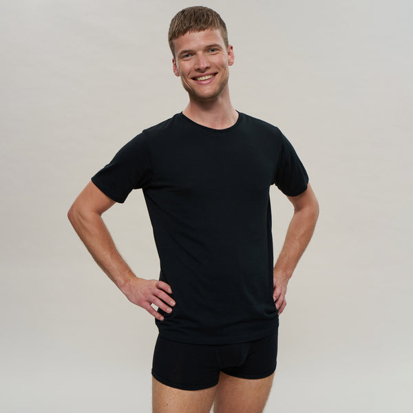 The Merino Wool Boxer Brief Black Woolday 1