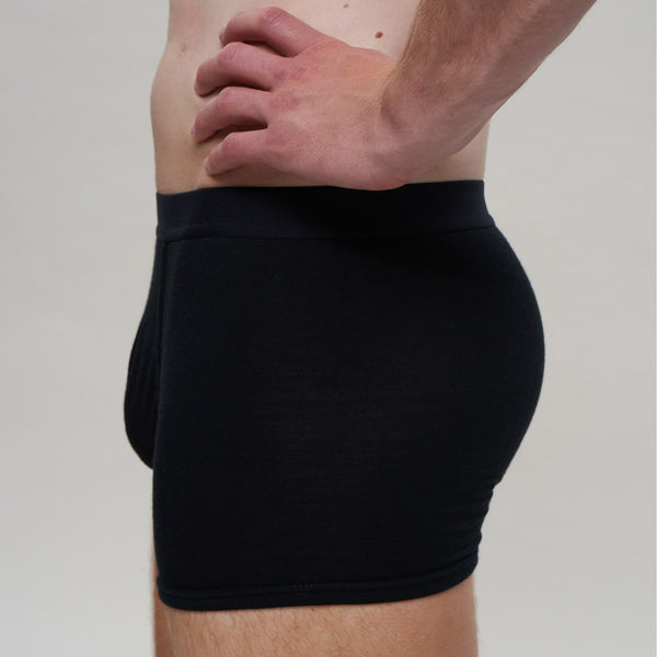 The Merino Wool Boxer Brief Black Woolday 2