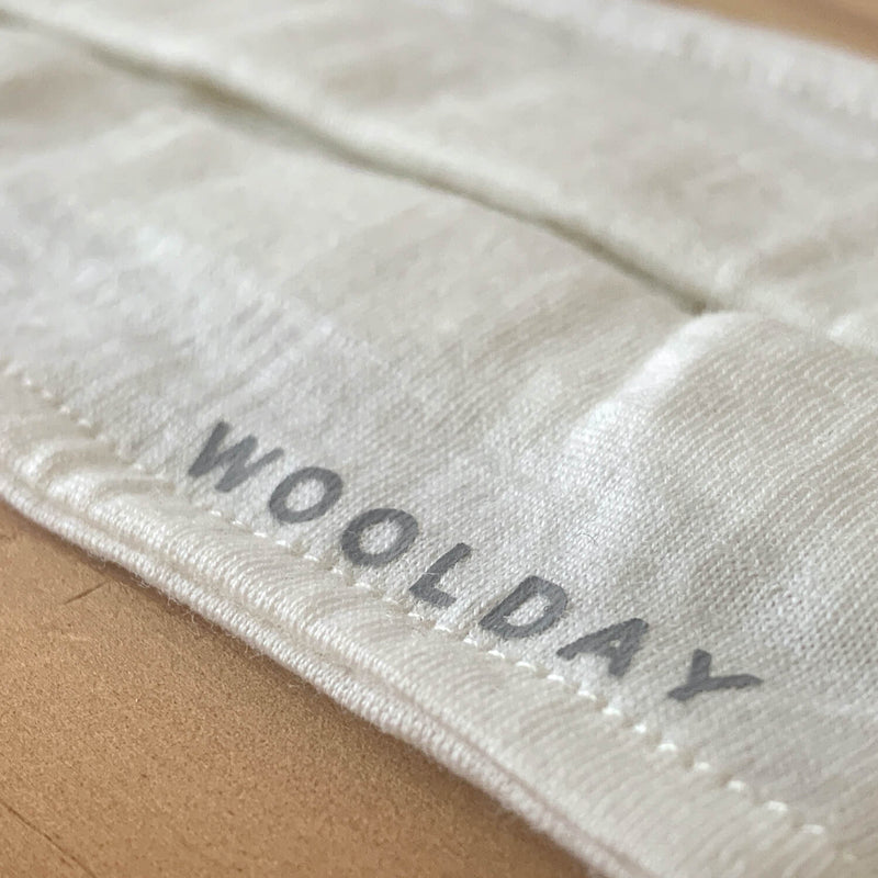 The Merino Wool Face Mask Off White Woolday 4