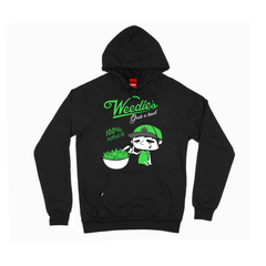 weedies hooded sweatshirt