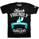 Black Kush Chronic Suppliers T-Shirt