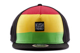 Kush Friendly Rasta Weed Snapback