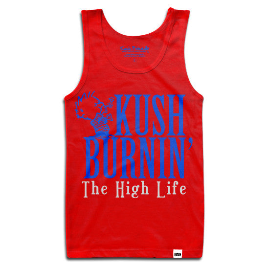 KUSH Burnin 420 Tank Top