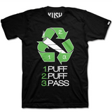 puff puff pass weed t-shirt