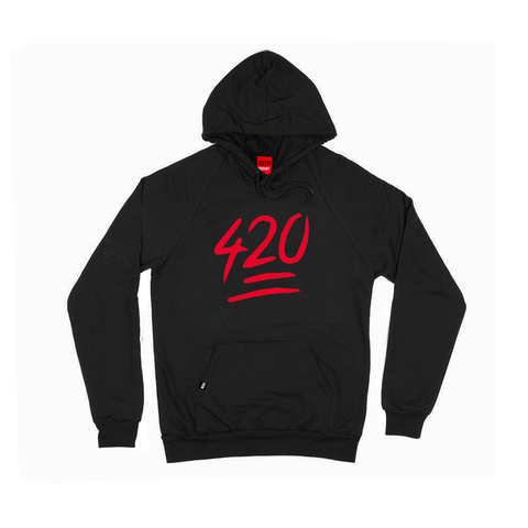 420 Emoji Hooded Sweatshirt