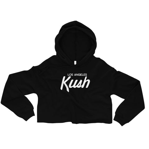 LA Kush - Women's Fleece Crop Hoodie