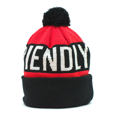 kush friendly pom beanie hat