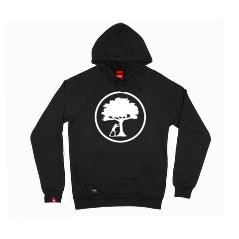 Stamp Glow Logo Hooded Sweatshirt