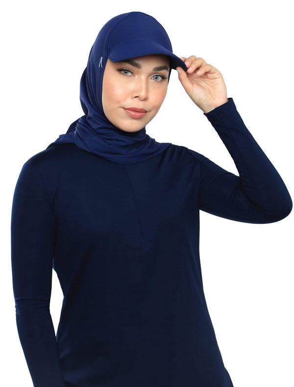 Aqua Sol Tri Cap in Navy