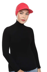 Aqua Sol Turban Cap in Chilli Red